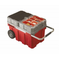 Ящик для инструментов на колесах MASTERLOADER Cart (Мастерлоадер), красный/серый