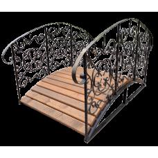 Декоративный мостик для дачи №3
