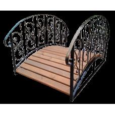 Декоративный мостик для дачи №4