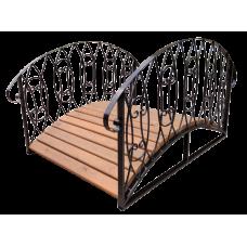 Декоративный мостик для дачи №5