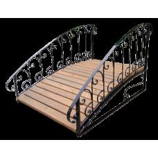 Декоративный мостик для дачи №6