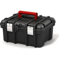 """Ящик для инструментов 16"""" POWER TOOL BOX (Пауэр Тул Бокс), красный/серый"""