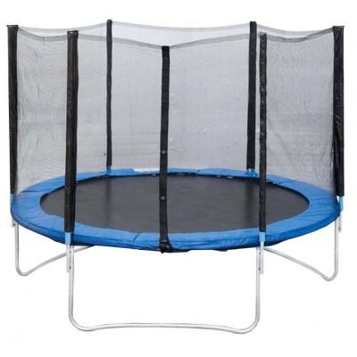 Батут с защитной сеткой и лестницей Trampoline Fitness 10 ft 306 см-standart