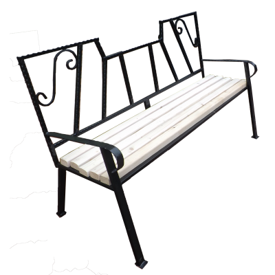 Скамейка для дачи №7 фото