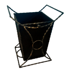 Урна для мусора уличная декоративная №2 без крыши