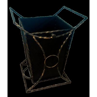 Урна для мусора уличная декоративная №2 без крыши фото