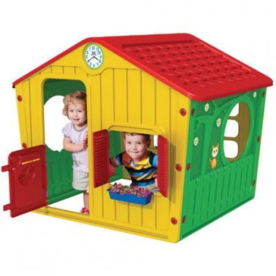 Домик игровой домик STARPLAST желтый, арт.01-561 фото