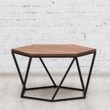 Стол обеденный фигурный СМ2 Loft Коричневый