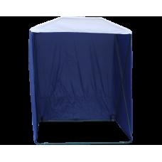 Палатка торговая Кабриолет 1.5 X 1.5 (быстроразборная) Синий/белый
