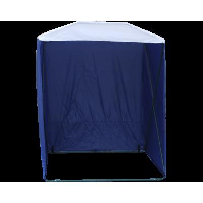 Палатка торговая Кабриолет 1.5 X 1.5 (быстроразборная) Синий/белый фото