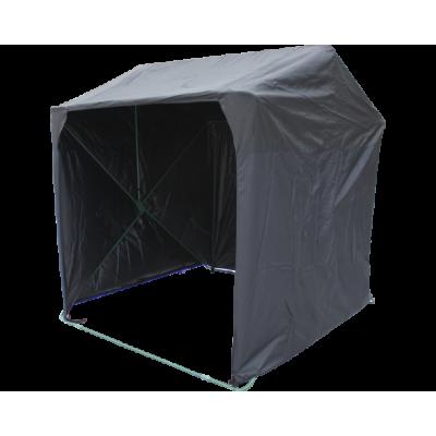 Палатка торговая Кабриолет 1.5 X 1.5 (быстроразборная) черный фото