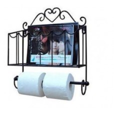 Настеный держатель туалетной бумаги и газет Н1