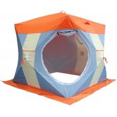 """Палатка для зимней рыбалки """"Нельма Куб 2 Люкс"""" с внутренним тентом"""