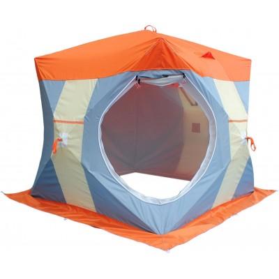"""Палатка для зимней рыбалки """"Нельма Куб 2 Люкс"""" с внутренним тентом фото"""