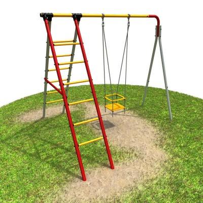 Детский спортивный комплекс для дачи РОМАНА Алфавит 2 фото