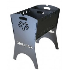 Мангал Grillbox (Hunter) с перегородкой