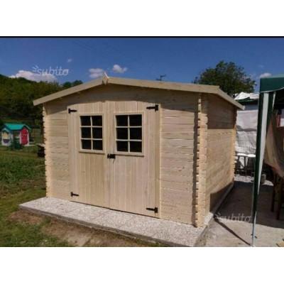 Домик деревянный 3,0 x 3,0м