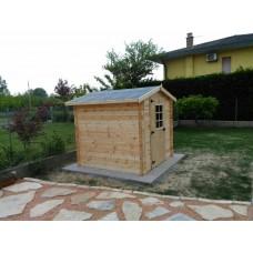 Домик деревянный 2.5 x 2.5 м
