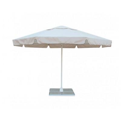 Зонт торговый круглый со стальным каркасом 4 М фото