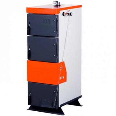 Твердотопливный котел TIS PRO 15 с регулятором тяги