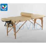 Складной массажный стол ErgoVita Classic (бежевый)
