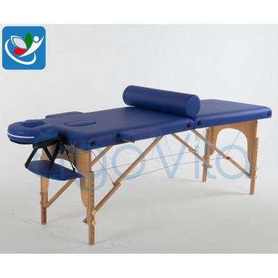 Складной массажный стол ErgoVita Classic (синий) фото