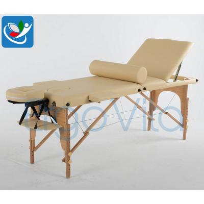Складной массажный стол ErgoVita Classic Plus (бежевый) фото