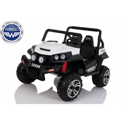 Двухместный детский электромобиль Wingo BUGGY 4x4 LUX фото