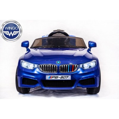 Детский электромобиль Wingo BMW M4 LUX Автокраска фото
