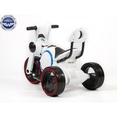 Детский электромотоцикл Wingo MOTO Y LUX фото