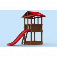 """Площадка для детей """"Непоседа"""" деревянная Little Panda"""