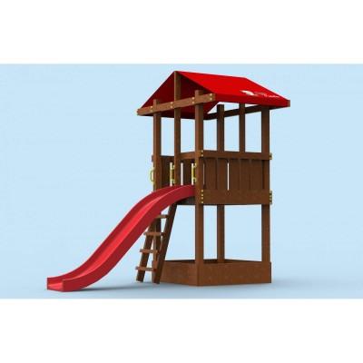 """Площадка для детей """"Непоседа"""" деревянная Little Panda фото"""