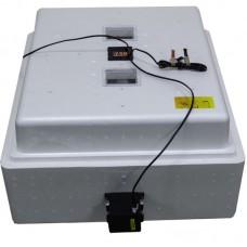 Инкубатор Несушка с цифровым терморегулятором 104 яйца автопереворот 12В гигрометр с вентиляторами