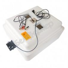 Инкубатор Несушка на 63 яйца (автомат, цифровое табло, 220+12В) + Гигрометр, арт. 46Г