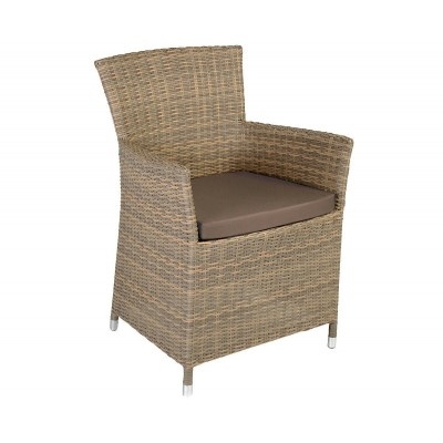 Кресло WICKER-1, Garden4you 0946 фото