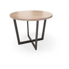 Столик обеденный круглый СМ1 Loft