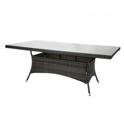 Садовый стол Garden4you WICKER 11994, темно-коричневый фото