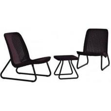 Комплект мебели для отдыха Keter Rio Patio set (Рио Патио Сэт)
