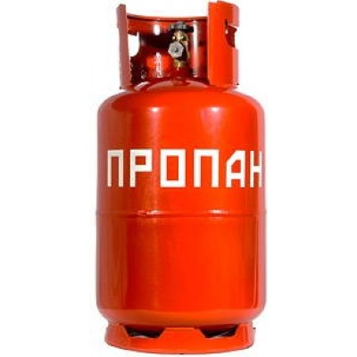 Газовый баллон Пропан 12 литров, пустой фото