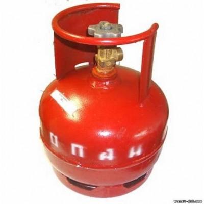 Газовый баллон Пропан 5 литров, пустой фото