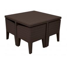 Комплект мебели KETER Columbia dining set (5 предметов)