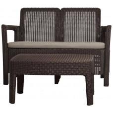 Комплект мебели Keter TARIFA SOFA + TABLE (диван+столик)