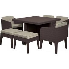 Комплект мебели KETER Columbia dining set (7 предметов)