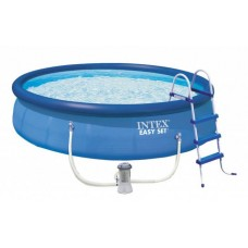 Бассейн Intex Easy Set 26168 457х122см + фильтр-насос, лестница, тент, подстилка