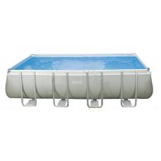 Каркасный бассейн Intex Ultra Frame 26352 549х274х132см + песочный фильтр-насос, лестница, тент, подстилка