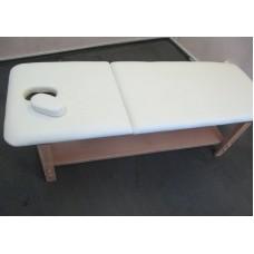 Стационарный массажный стол BodyFit бежевый