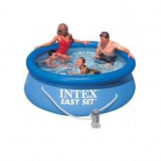 Бассейн с комплектом 244x76 см, Easy Set, Intex 28112/56972