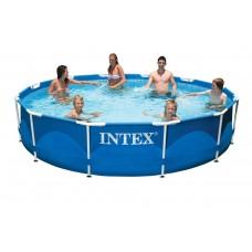 Каркасный бассейн 366х76 см, Metal Frame, Intex 28210/56994