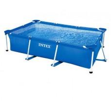 Каркасный бассейн 260x160x65 см прямоугольный, Intex 28271/58980