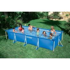 Каркасный бассейн 450x220x85 см, прямоугольный, Intex 28273/58982